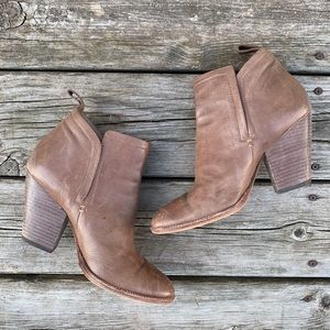 Dolce Vita Stacked Heel Ankle Boots